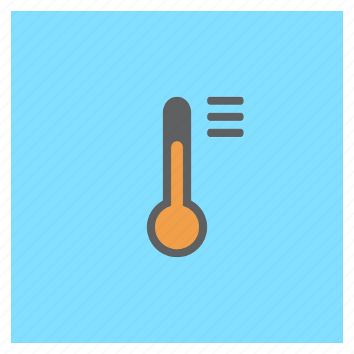 forecast, list, options, settings, temperature, thermometer, weather icon