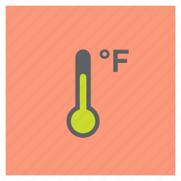 degree, fahrenheit, forecast, hot, temperature, thermometer, weather icon