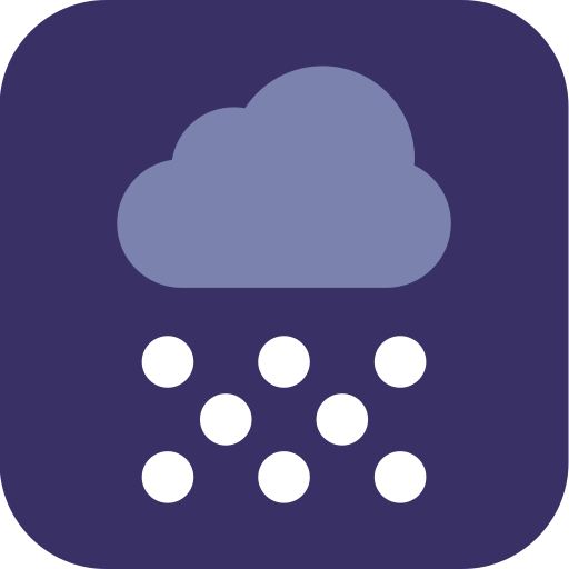 snow, snowing, weather icon