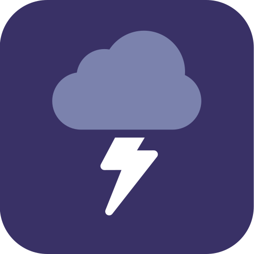 storm, thunder, weather icon