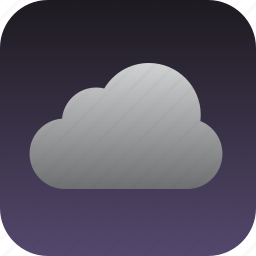 cloud, cloudy icon