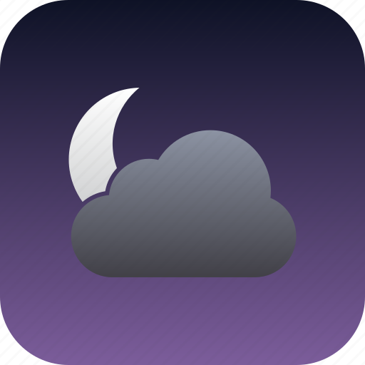 cloudy, partly, partlycloudy icon