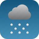 snow, snowing icon