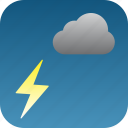 storm, thunder icon
