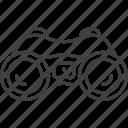 binocular, binocular icon, explore, find, magnifier, search, zoom icon icon
