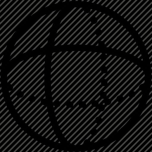 3d, round, sphere icon