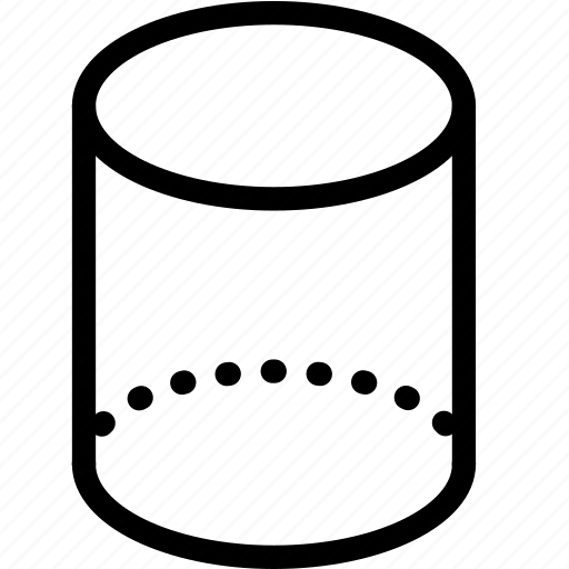3d, cylinder icon
