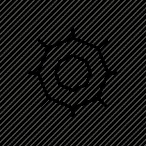 cog, cogs, controls, round cog, settings, wheel icon