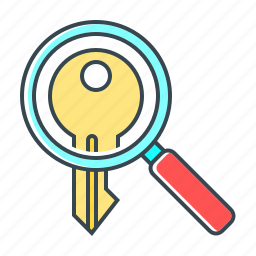 keyword, magnifying, optimization, search, seo, tags, zoom icon