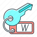 key, keyword search, keywords, optimization, seo, tags icon
