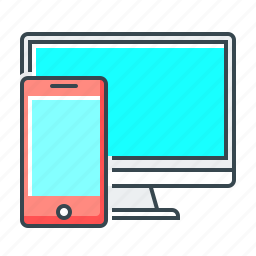 monitor, responsive, responsive design, screen, technology, web icon