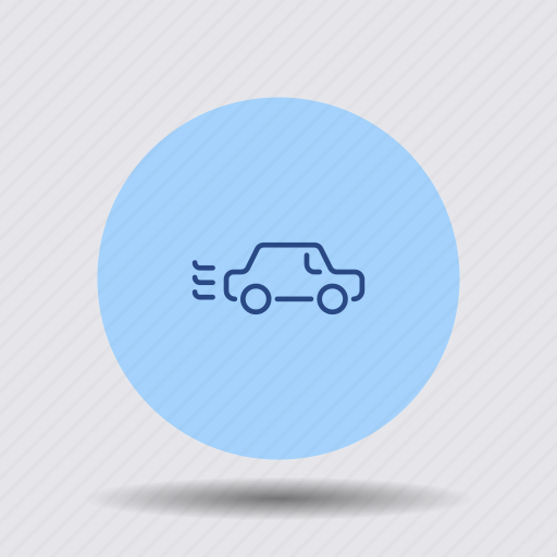automobile, car, driving, fast, traffic, transport, vehicle icon