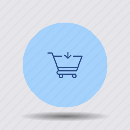 add, buy, cart, download, order, purchase, trolley icon