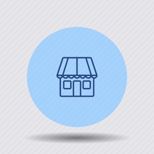 boutique, business, commercial, front, market, shop, store icon