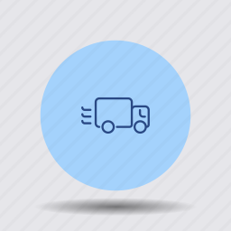 cargo, delivery, fast, service, shipping, transport, truck icon