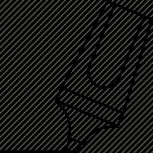 design, draw, highlight, highlighter, marker icon