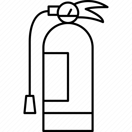 extinguisher, fire, firefighter, fireman, flame icon