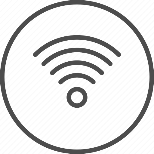 internet, network, signal, signals, wi-fi, wifi, wireless icon