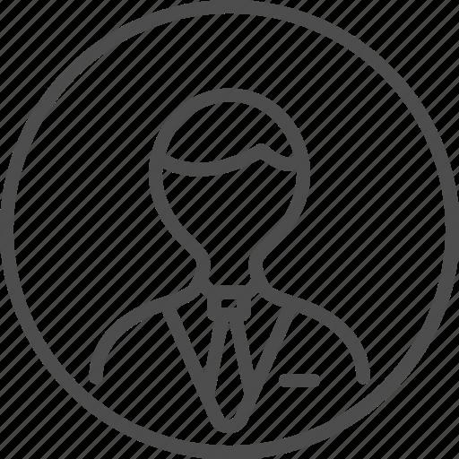avatar, contact, human, man, person, profile, user icon