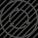 arrow, direction, wait, arrows, circle