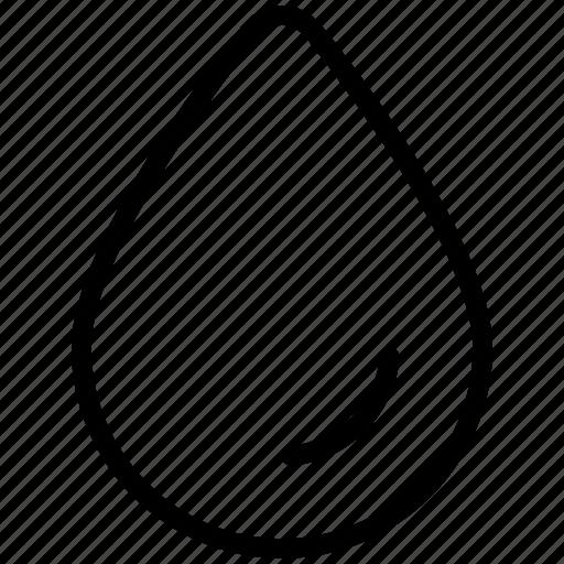 aqua, drop, droplet, liquid, oil, water, water drop icon