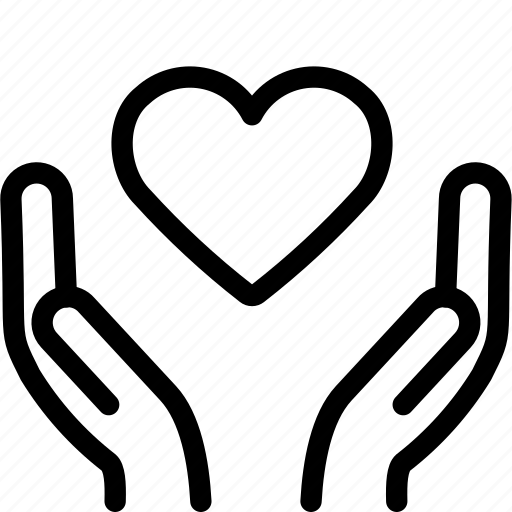 love, sharing icon