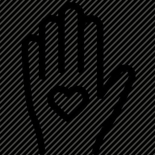 give, love, spread, thankyou icon