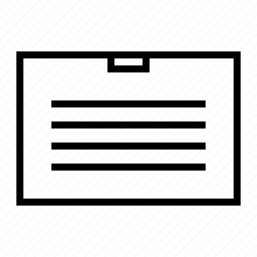 briefcase, files, portfolio icon