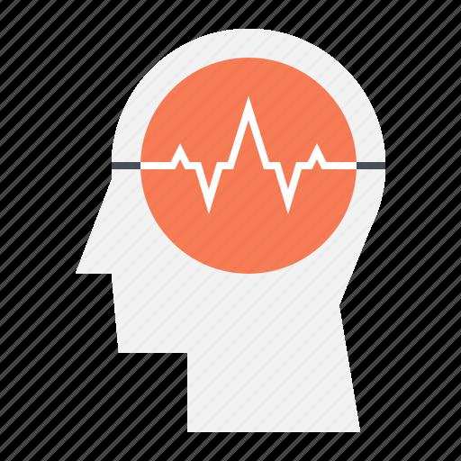 activity, brain, head, health, human, mind, thinking icon