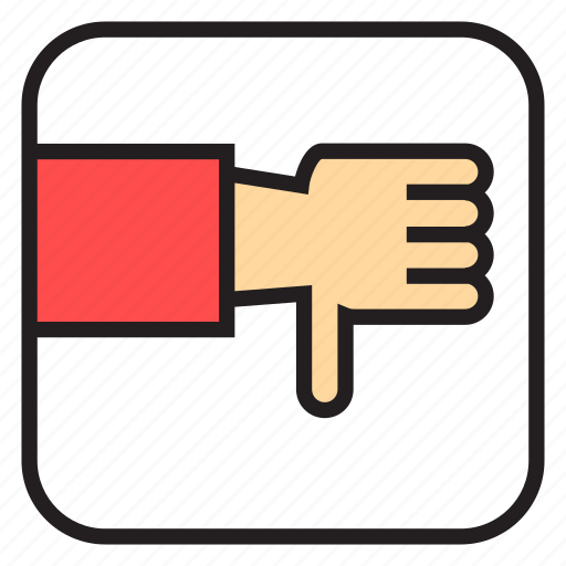 Bad, bad luck, hand, job, luck, no, worst icon - Download on Iconfinder
