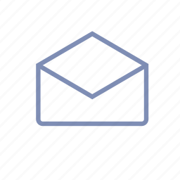 email, envelope, inbox, letter, mail, message, new icon