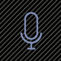 artist, microphone, musician, radio, sing, sound, speak icon