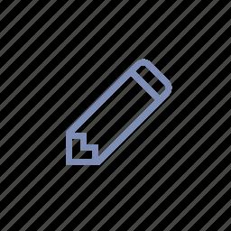 draw, edit, pencil, type, write icon