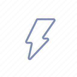 dangerous, energy, flash, lightning, news, notification, power icon