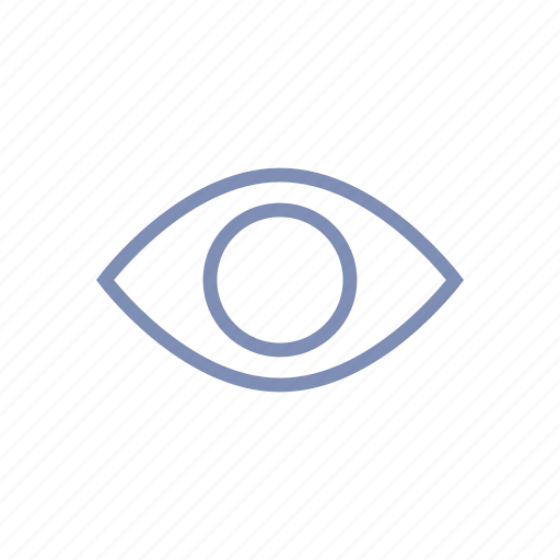 eye, look, open, private, view, visible, watch icon