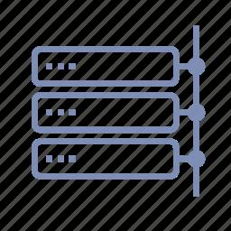 back-end, data, database, local, net, server, storage icon