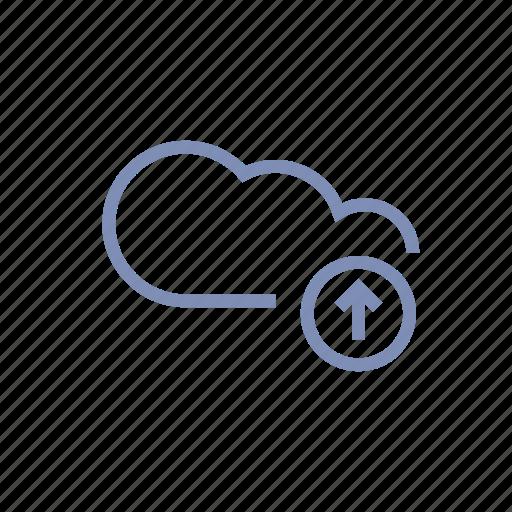 cloud, data, server, storage, upload icon