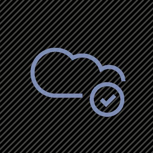 cloud, connection, data, server, storage icon
