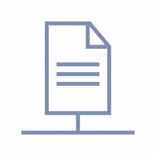 connection, document, file, link, share icon
