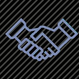business, communication, deal, handshake, partner icon