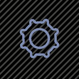 cogwheel, config, gear, options, profile, settings, setup icon