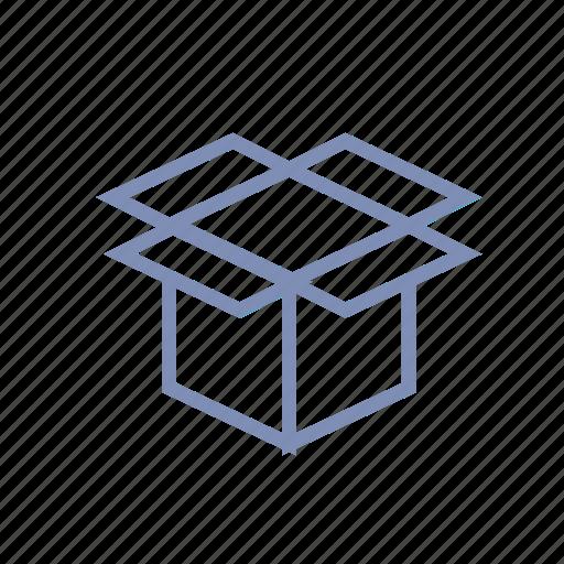 archive, box, dropbox, move, storage icon