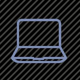 computer, device, laptop, macbook, monitor icon