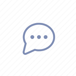 advice, chat, comment, communications, message, talk, type icon