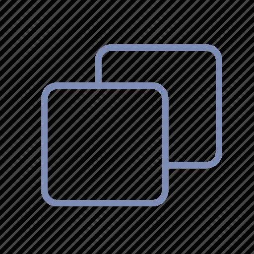 copy, directory, duplicate, folder, layer, square icon