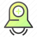 alarm, bell, stopring, timeraddplus icon