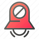 alarm, bell, stopring, timerblock icon