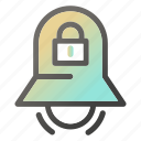 alarm, bell, stopring, timerlockprotection icon