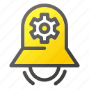 alarm, bell, stopring, timerlocksettingconfiguration icon