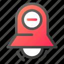 alarm, bell, stopring, timerminus icon
